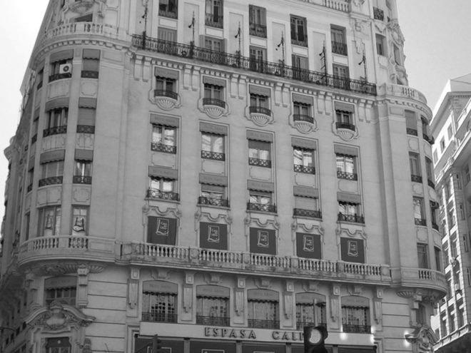 Demoliciones en Casa del Libro, Gran Vía 29, Madrid